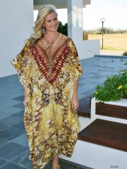 My Darling Jeannie - Escape Silk Kaftan