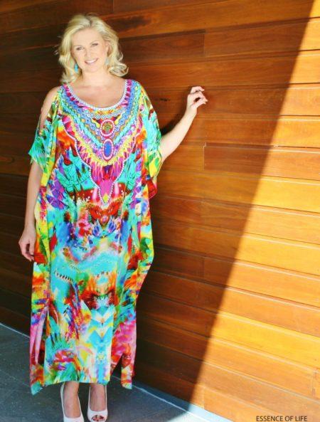 My Darling Jeannie - Essence of Life Silk Kaftan