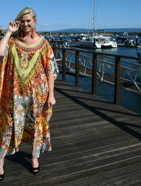 My Darling Jeannie - Warrior Princess Silk Kaftan