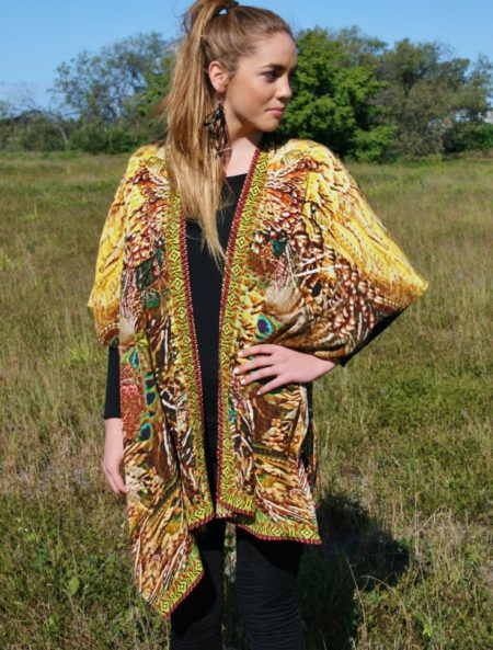 My Darling Jeannie - Navajo Silk Cape
