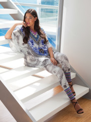 My Darling Jeannie - Heaven & Earth Silk Kaftan