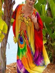 Vanhi Silk Kaftan - My Darling Jeannie