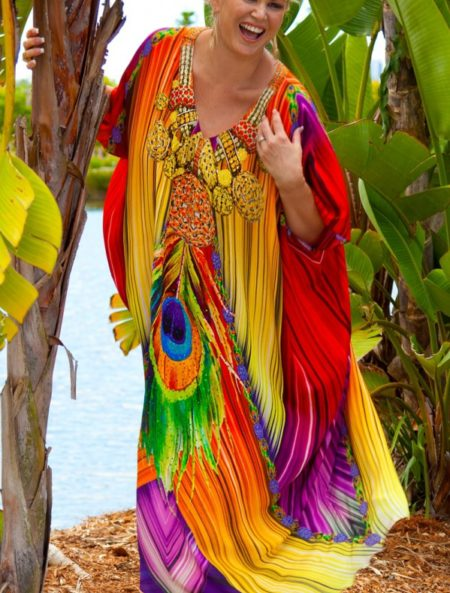 Vanhi Silk Kaftan - My Darling Jeannie