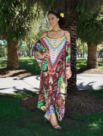 My Darling Jeannie - Amazon Short Long Kaftan