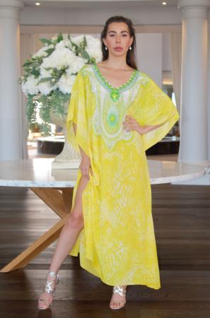 My Darling Jeannie - Twist of Lemon Long Kaftan 1 - IMG_5714