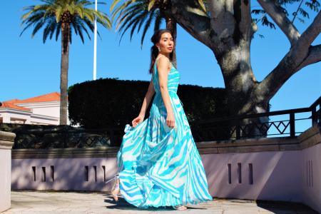 My Darling Jeannie - Savannah Flared Dress 1 - IMG_5885